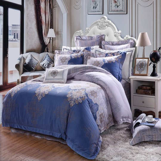 Daphne Brand printing lovely 100 cotton bedding sets plaid brushed
