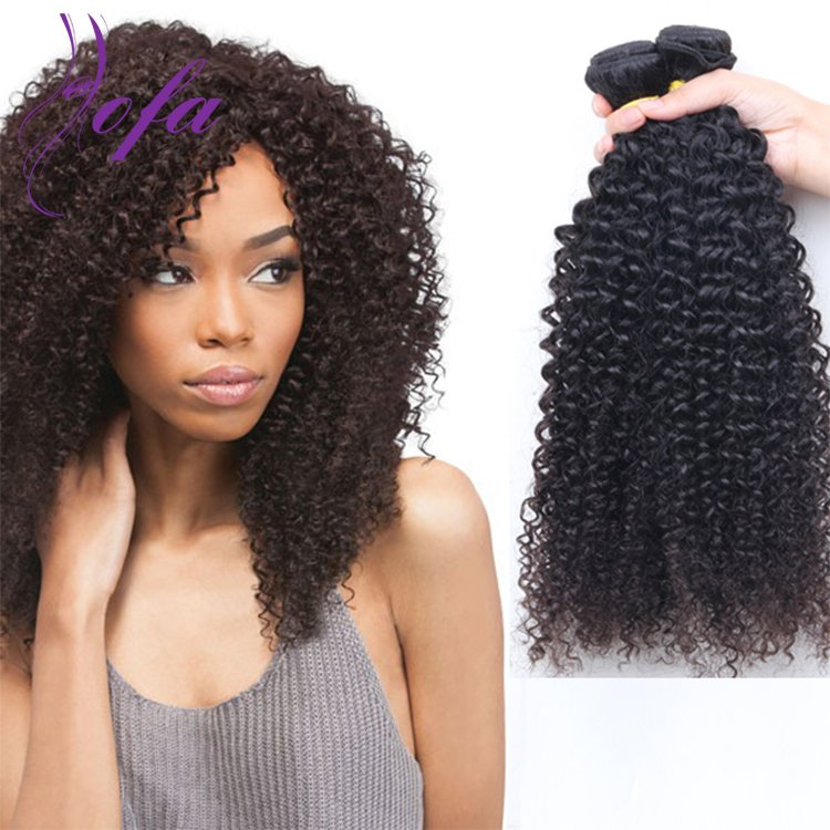 Hottest High Quality Virgin Human Brazilian Kinky Curly Hair Extensions