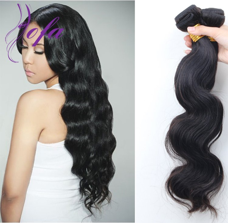 loose wave hair weft weave