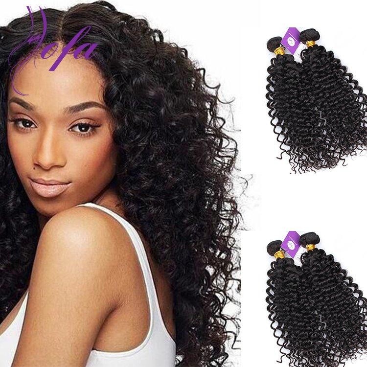 Brazilian deep wavy hair