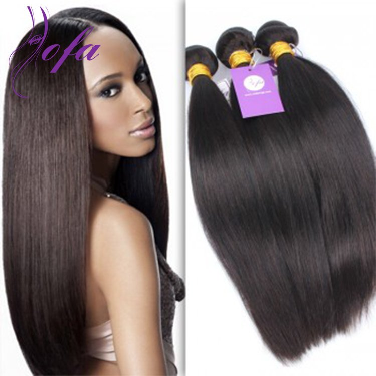 6a Grade Remy Virgin Hair Indian Straight Weave Hair Weft Sale
