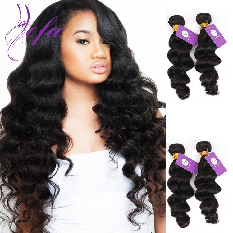 100 Human Hair Human Hair Wavy Weft Malaysian Virgin Hair Body Wave