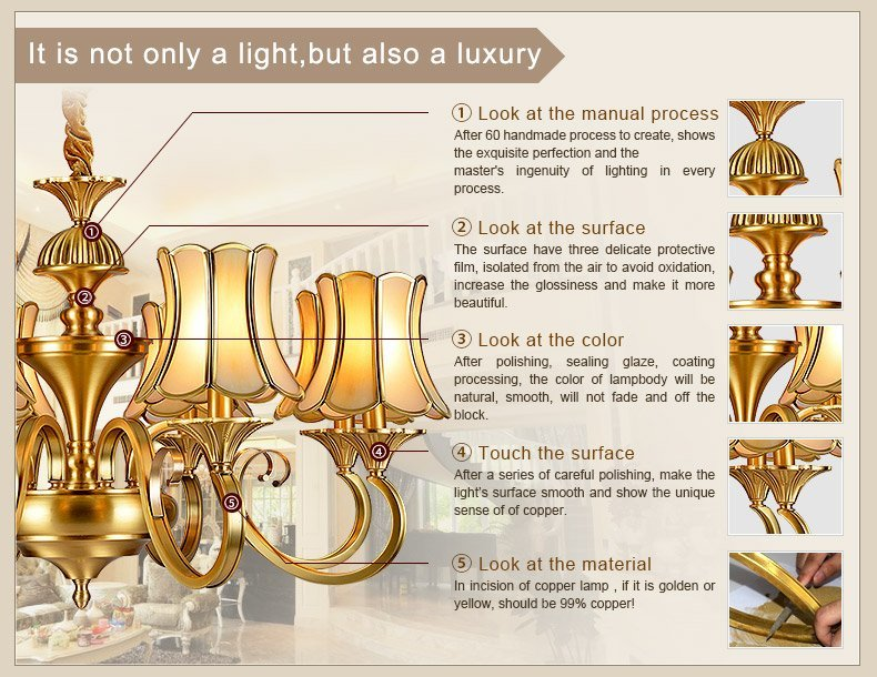 decorative chandeliers decorative restaurant antique brass chandelier vintage EME LIGHTING Brand